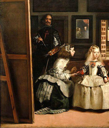 Diego Velázquez - Las Meninans (particolare) - Diego Velázquez - Las Meninas - [Public domain] via Wikimedia Commons
