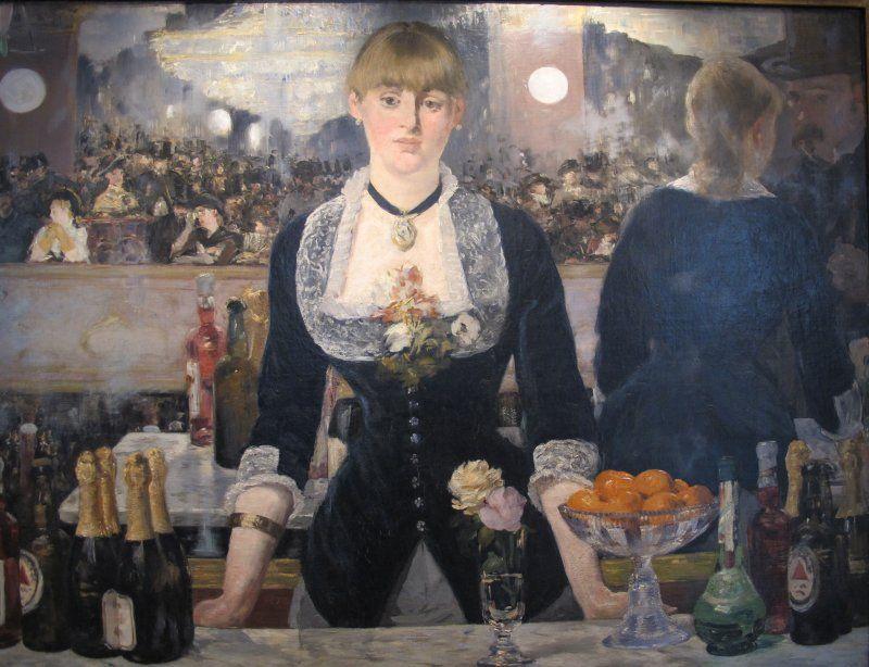 Manet - Bar delle Folies-Bergère - I, Sailko [Public domain, GFDL or CC BY-SA 3.0] via Wikimedia Commons