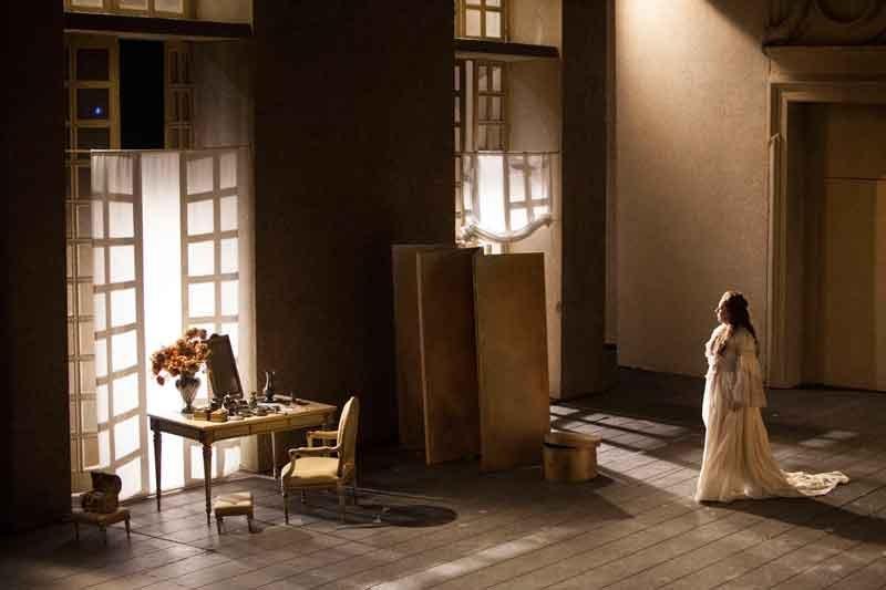 """Dorothea Röschmann (2011-2012) in """"Le nozze di Figaro"""" © Marco Brescia / Teatro alla Scala"""