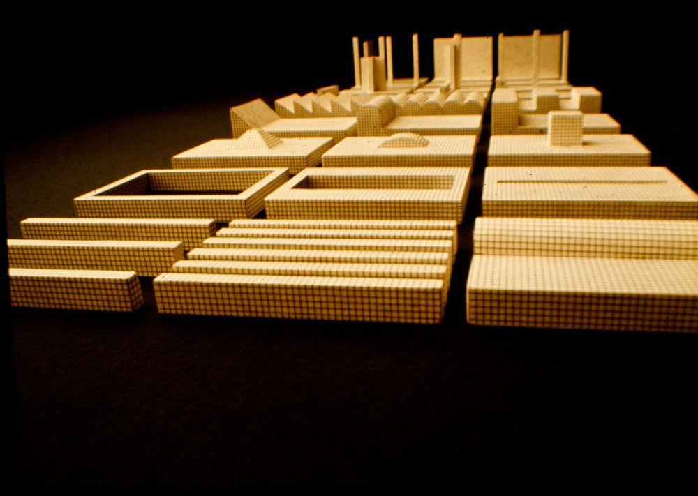Mostra Super Superstudio_Superstudio, Istogrammi, 1969. Modelli in scala 1 a 20 degli Istogrammi_MilanoPlatinum