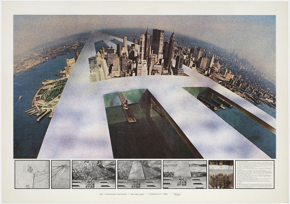 Mostra Super Superstudio_ilMonumentoContinuo_NewYork1969_MilanoPlatinum