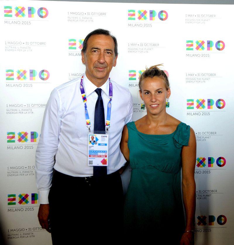 TANIA CAGNOTTO A EXPO MILANO 2015