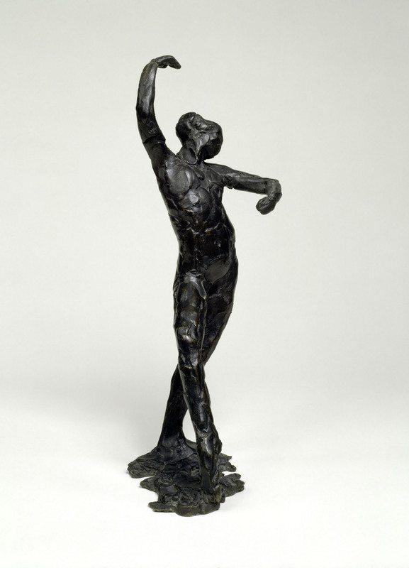 Edgar Degas Danza spagnola (Danse espagnole), ca. 1896–1911  (fusione postuma c. 1919–26)  Bronzo, 40,3 x 16,5 x 17,8 cm Solomon R. Guggenheim Museum, New York Thannhauser Collection, Donazione Justin K. Thannhauser  78.2514.9  © Solomon R. Guggenheim Foundation, New York (SRGF)