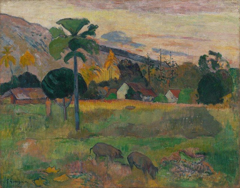 Paul Gauguin Haere Mai, 1891 Olio su iuta, 72,4 x 91,4 cm Solomon R. Guggenheim Museum, New York Thannhauser Collection, Donazione Justin K. Thannhauser  78.2514.16  © Solomon R. Guggenheim Foundation, New York (SRGF)