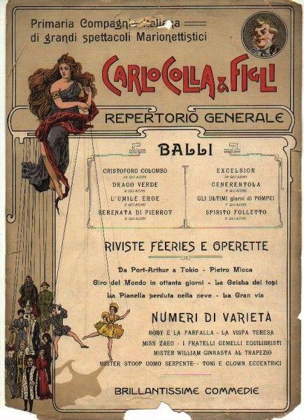 Marionette del Teatro Gerolamo