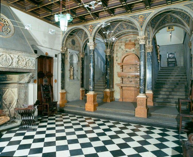 Le case museo di milano for Interni ville antiche