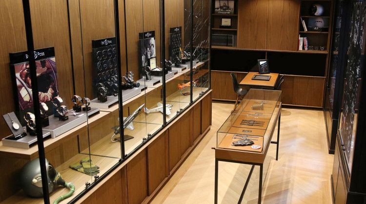 A Londra, la prima boutique Bell&Ross