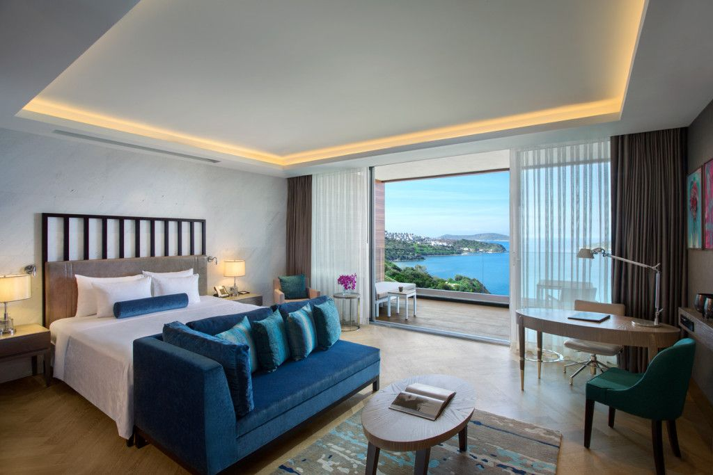 Camera hotel lusso sul mare JW Marriott Bodrum