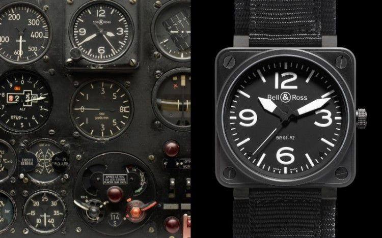 "Bell&Ross ""BR 01 10 Anniversary"""