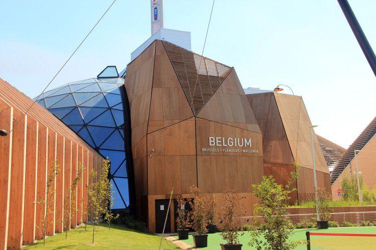 Padiglione Belgio Expo 2015 - Milano Platinum