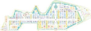 Mappa padiglione Angola Expo 2015