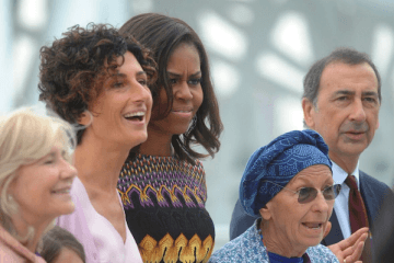 MICHELLE OBAMA PER WOMEN FOR EXPO - MilanoPlatinum
