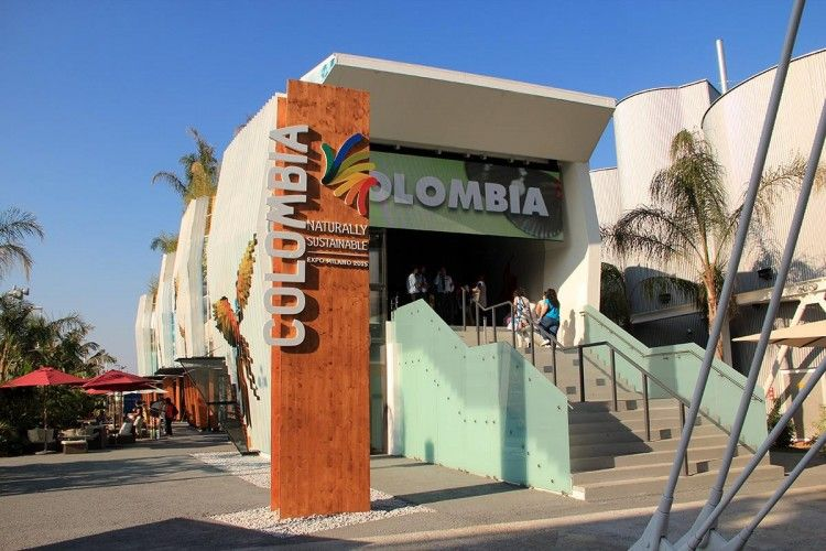 PADIGLIONE COLOMBIA EXPO 2015 - MilanoPlatinum