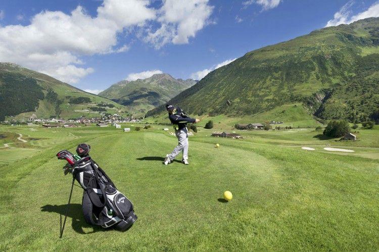 Giocare a golf in Svizzera, The Chedi Andermatt