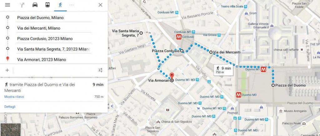 Passeggiata manzoniana - Mappa 3