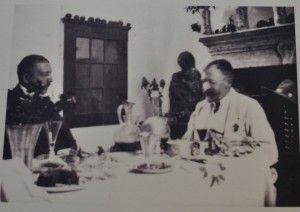 Axel Munthe e un suo ospite