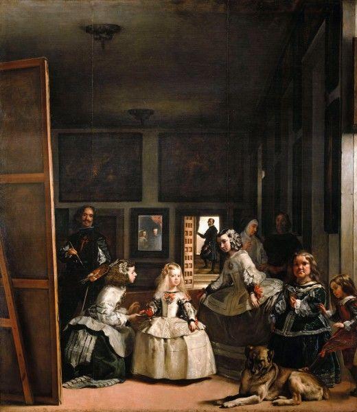 Diego Velázquez - Las Meninas - [Public domain] via Wikimedia Commons