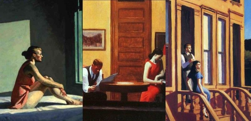Edward hopper una finestra sulla solitudine for Design interni famosi