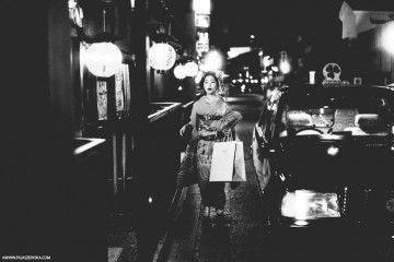 Maiko, a life in black and white - (credits Ewa Figaszewska)