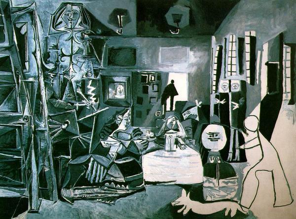Pablo Picasso - Las meninans (flikr.com)