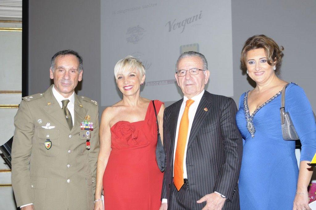 Antonio Pennino, Anita Lissona, cav. Patrizio Podini ed Anna Campanile