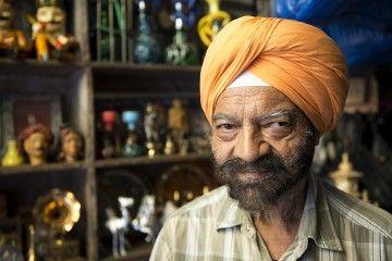 Viaggio in India - L'uomo del bric-á-brac (credits Walter Meregalli)