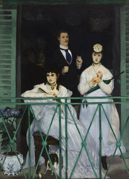 Édouard Manet - Il balcone (1868-1869)