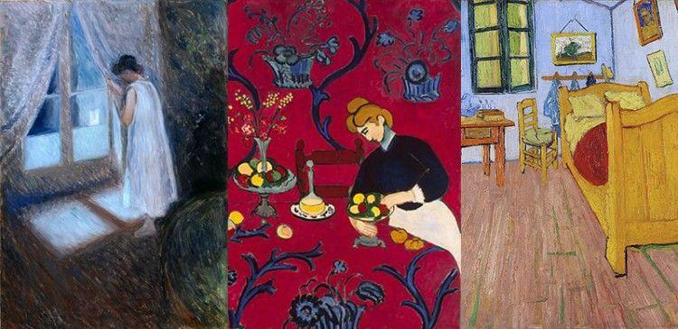 Finestre nell arte post impressionismo ed espressionismo for Disegni di casa francese