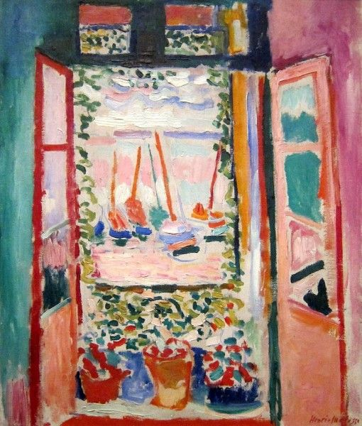 Henri Matisse - Fenêtre à Collioure - 1905