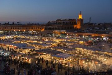 Jamaa El Fnaa, il cuore pulsante di Marrakech - 02 (credits Walter Meregalli)