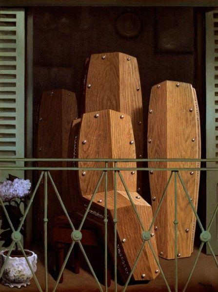 René Magritte - Prospettiva II. Il balcone di Manet (1950)