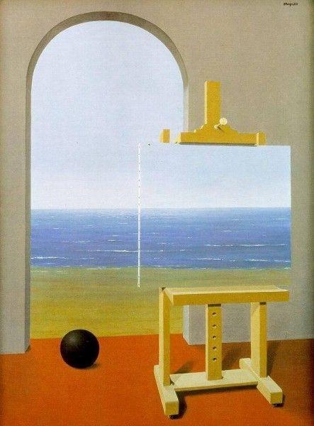 René Magritte - La Condizione umana II, 1935 (Flikr.com)