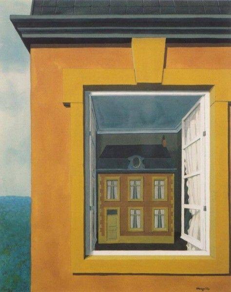 René Magritte - L'éloge de la dialectique, 1936. (Flikr.com Creative Commons)