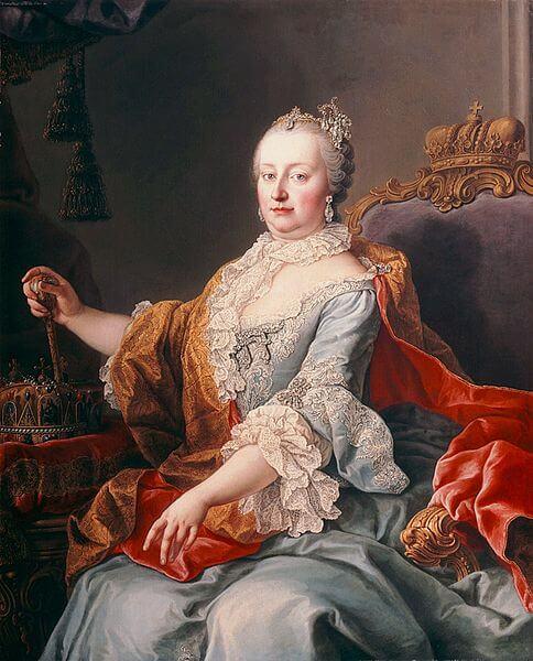 Maria Teresa d'Austria (Martin van Meytens [Public domain], via Wikimedia Commons)