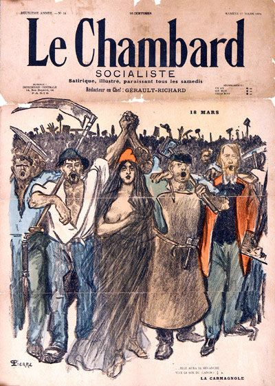 Alexandre Steinlen, Le Chambard socialiste n° 14, 17 aprile 1894