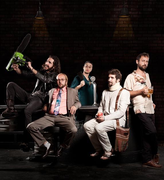 Animali da bar (credits Laila Pozzo via Teatro Elfo-Puccini)