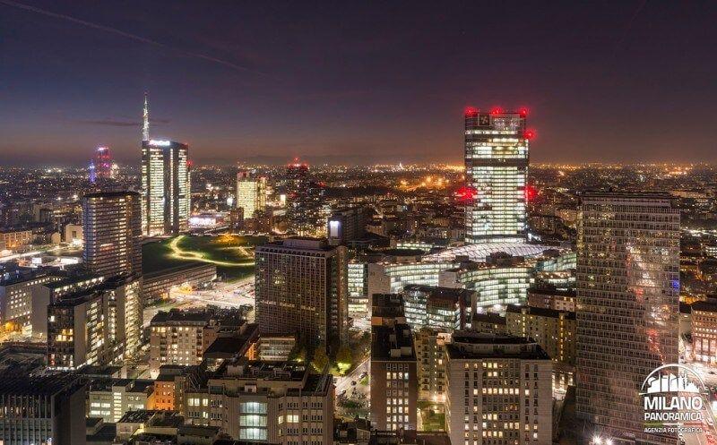Centro Direzionale (credits Milano Panoramica)