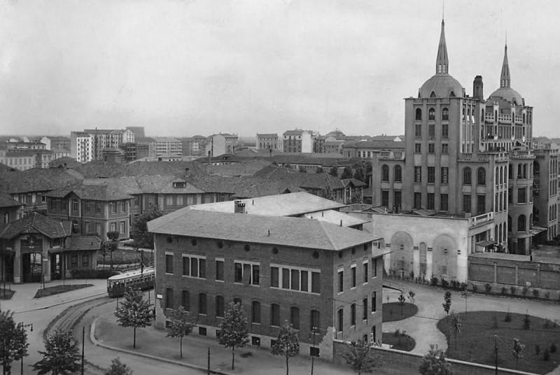 Città Studi, anni '30 (credits Milano Sparita e da Ricordare)