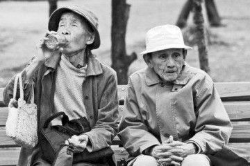Elderly People in Japan (credits Ewa Figaszewska)
