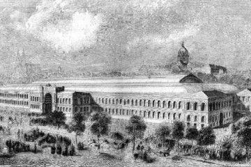 Expo 1855 Parigi - Esposizione Universale di Parigi [Wikimedia Commons]