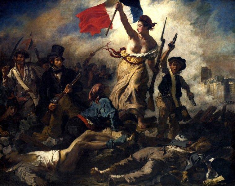 Eugène Delacroix - La liberté guidant le peuple, 1830 -[Public domain], via Wikimedia Commons