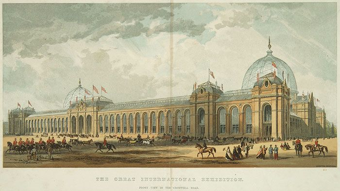 Expo 1862 Londra - Exhibition Palace - By Unknown (work from 1862) [Public domain], via Wikimedia Commons