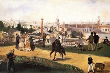 Expo 1867 Parigi - Édouard Manet, Guardando il mondo [Public domain], via Wikimedia Commons