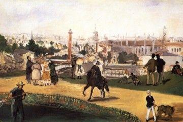 Expo 1867 Parigi - Édouard Manet, Guardando il mondo [Public domain], via Wikimedia Commons