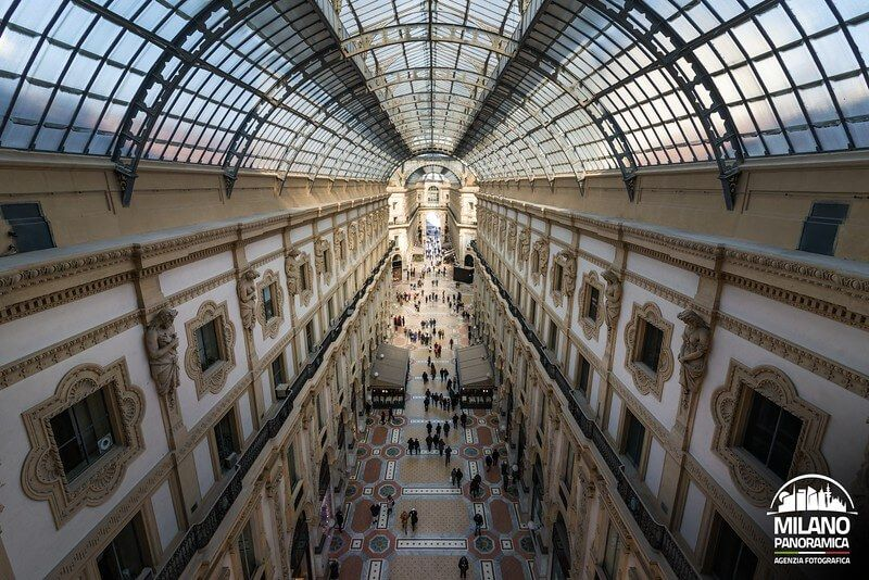 Galleria Vittorio Emanuele (credits Milano Panoramica)