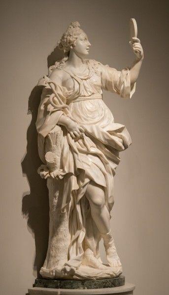Giovanni Baratta (1670-1747), La Prudenza - Flickr.com Creative Commons