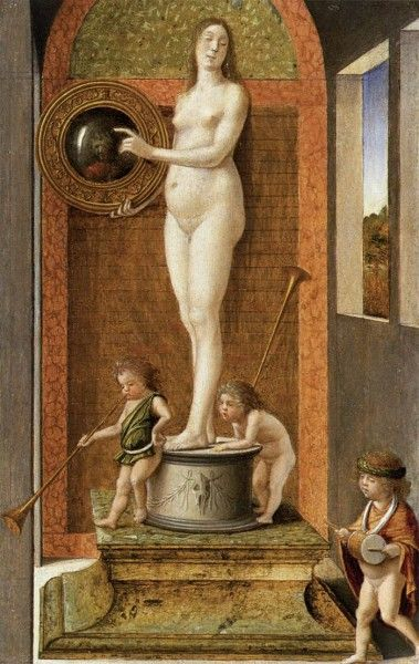 Giovanni Bellini, La prudenza, 1490 - [Public domain], via Wikimedia Commons