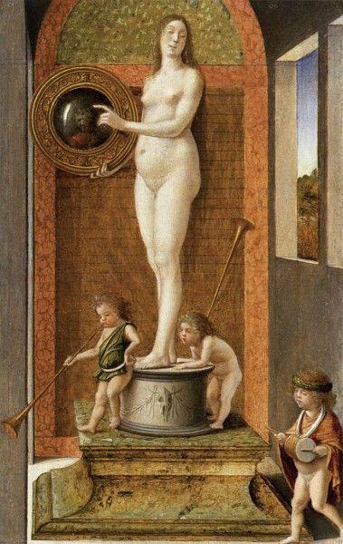 Giovanni Bellini, La prudenza, 1490 - [Public domain], via Wikimedia Commons