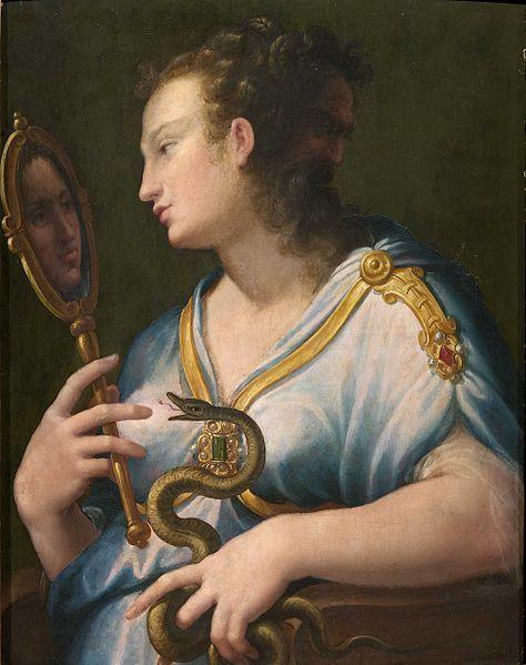 Girolamo Macchietti, Allegoria della Prudenza (1535-1592) - [Public domain], via Wikimedia Commons