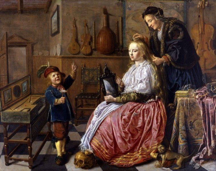 Jan Miense Molenaer, Allegoria della vanità, 1633 - [Public domain], via Wikimedia Commons